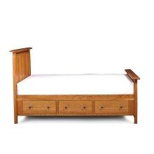 Aspen Under-Bed Storage, 3-Drawers Each Side