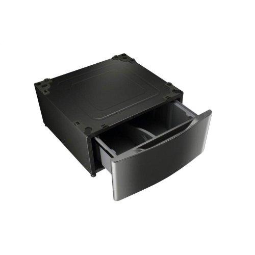 Laundry Pedestal - Black Stainless Steel