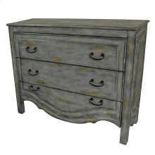 Stansbury 3 Drawer Dover Grey Chest