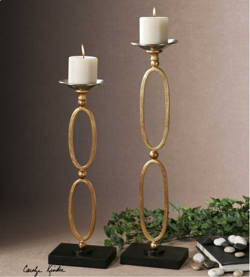 Lauria, Candleholders, S/2