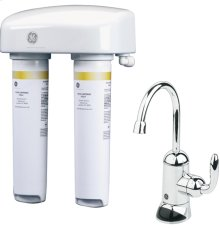 DUAL STAGE DRINKING WATER FILTRATION SYSTEM