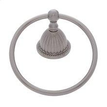 Satin Nickel Renaissance Towel Ring