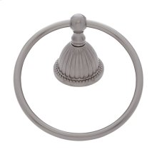 Satin Nickel Renaissance Towel Ring