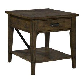 Creedmoor Drawer End Table