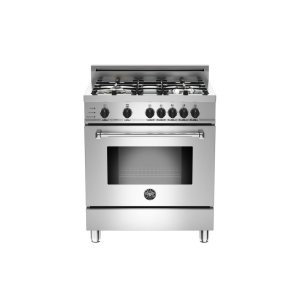 30 4-Burner, Electric Self-Clean Oven Stainless -