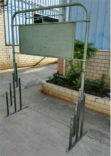 Metal Bed Rack