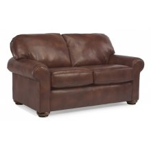 Preston Leather Loveseat