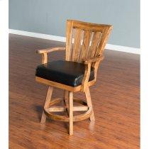 "Sedona 24"" Slatback Barstool Product Image"