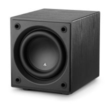 8-inch (200 mm) Powered Subwoofer, Black Ash Finish