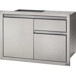 "Napoleon Grills36"" X 24"" Single Door & Standard Drawer and Standard Drawer , Stainless Steel"