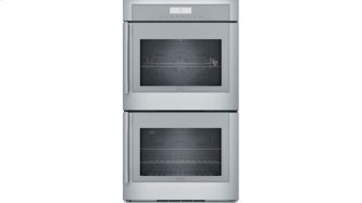 30 inch Masterpiece(R) Series Double Wall Oven, Right-Side Swing Door MED302RWS