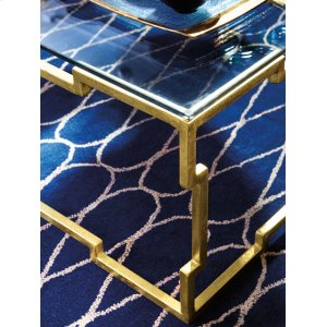 Bancroft Square Cocktail Table in Gold Leaf (356)
