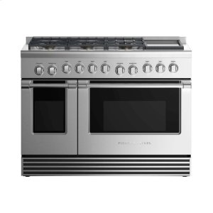 "Fisher & PaykelGas Range 48"", 6 Burners with Griddle (LPG)"