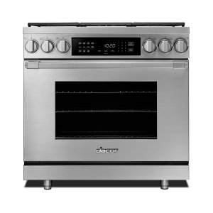 "DACOR36"" Heritage Dual Fuel Pro Range-SS Natural Gas"