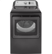 GE® 7.4 cu. ft. Capacity aluminized alloy drum Electric Dryer with HE Sensor Dry Product Image
