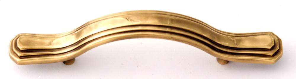 Geometric Pull A1516-3 - Polished Antique