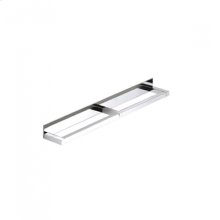 "AS160 - Side by Side Double Towel Bar 18"" - Polished Chrome"