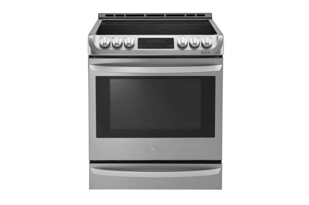 6.3 cu. ft. Electric Single Oven Slide-in Range with ProBake Convection(R) and EasyClean(R)