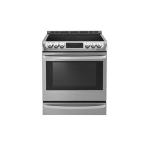 6.3 cu. ft. Electric Slide-in Range with ProBake Convection® and EasyClean® - STAINLESS STEEL