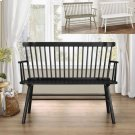Jerimiah Spindleback Bench Black Product Image