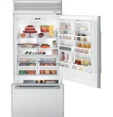 "GE Monogram® 36"" Professional Built-In Bottom-Freezer Refrigerator"