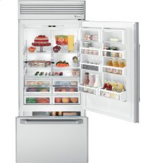 "GE Monogram® 36"" Professional Built-In Bottom-Freezer Refrigerator"