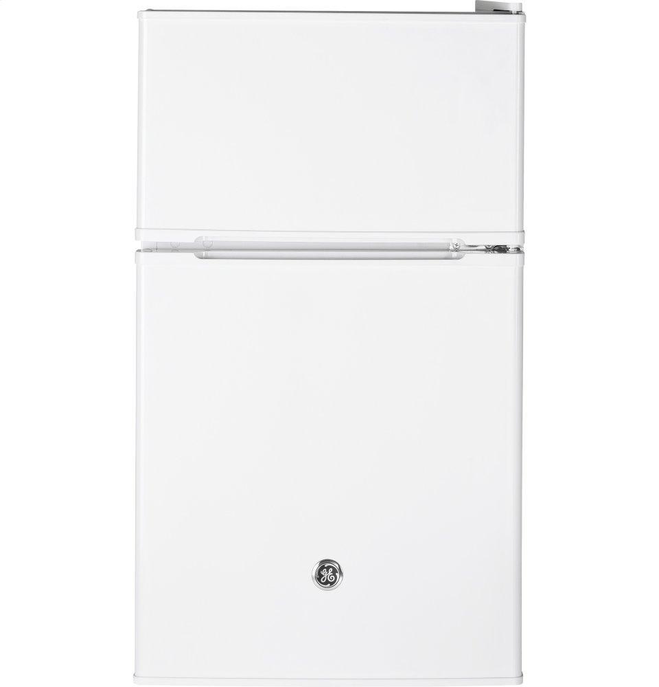 GE® Double Door Compact Refrigerator