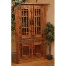 Stony Brooke - 4 Door Corner Cupboard With Glass Doors Product Image