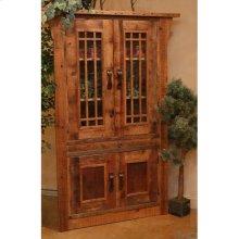 Stony Brooke - 4 Door Corner Cupboard With Glass Doors