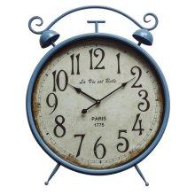 Life is Beautiful Blue Wall Clock
