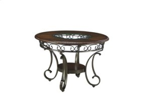 D329-01/15  Round Dining Room Table and 4 Chairs - Glambrey