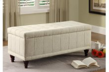 Lift-Top Storage Bench, Fabric