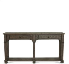 Cassidy Sofa Table Aged Cask finish