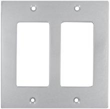 Double Rocker Modern Switchplate