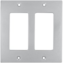 Double Rocker Modern Switchplate