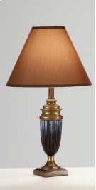 Cocoa/Bronze Vase Lamp Product Image