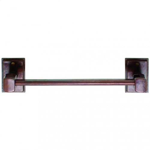 Tempo Horizontal Paper Towel Holder - PT3 Silicon Bronze Rust