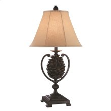 Big Sur Iron Pinecone Table Lamp