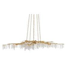 Forest Light Gold Chandelier