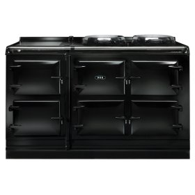 Black AGA Total Control Five Oven Range Cooker-TC5 Simply a Better Way to Cook