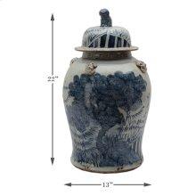 Large Tree Ceramic Vessel