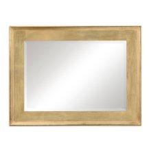 Rectangular Gold Leaf Mirror