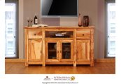TV Stand w/ 4 door & 2 drawer