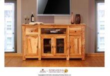 TV Stand w/ 4 door & 2 drawer