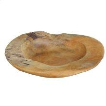 Aisling Decorative Teak Bowl