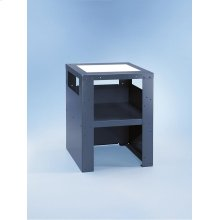 UG 5005-75 Plinth For ergonomic loading and unloading of the washing machine and dryer.