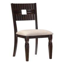 "Bayfield ""Black Crimson"" Dining Side Chair - 2 pcs in 1 carton"