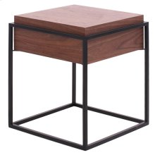 Kali End Table, Walnut