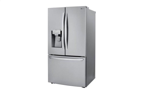 24 cu. ft. Smart wi-fi Enabled French Door Counter-Depth Refrigerator