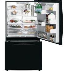 GE Profile™ ENERGY STAR® Counter-Depth 21.1 Cu. Ft. Bottom-Freezer Refrigerator